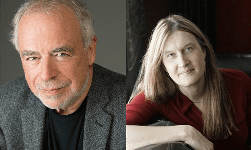 Richard Russo and Jenny Boylan