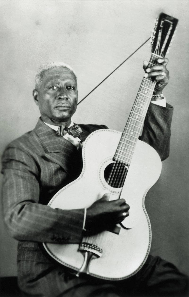 "Lead Belly, portrait. Music legend Lead Belly's life and legacy are celebrated in the new Smithsonian Channel documentary, ""Legend of Lead Belly,"" premiering February 23."