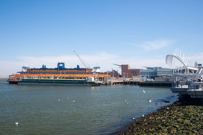 St. George Staten Island ferry terminal.