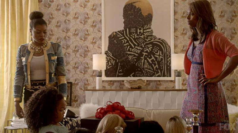 Toyin Ojih Odutola's 'Hold it in Your Mouth a Little Longer' is featured in the season premiere of Empire.