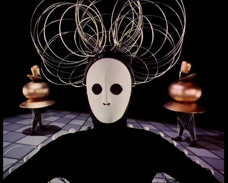 After Oskar Schlemmer (1888–1943) Das Triadische Ballett [Triadic Ballet], 1970 35mm film transferred to video, color, sound; 29 min. ©1970 Bavaria Atelier for SWR in collaboration w/ Inter Nationes