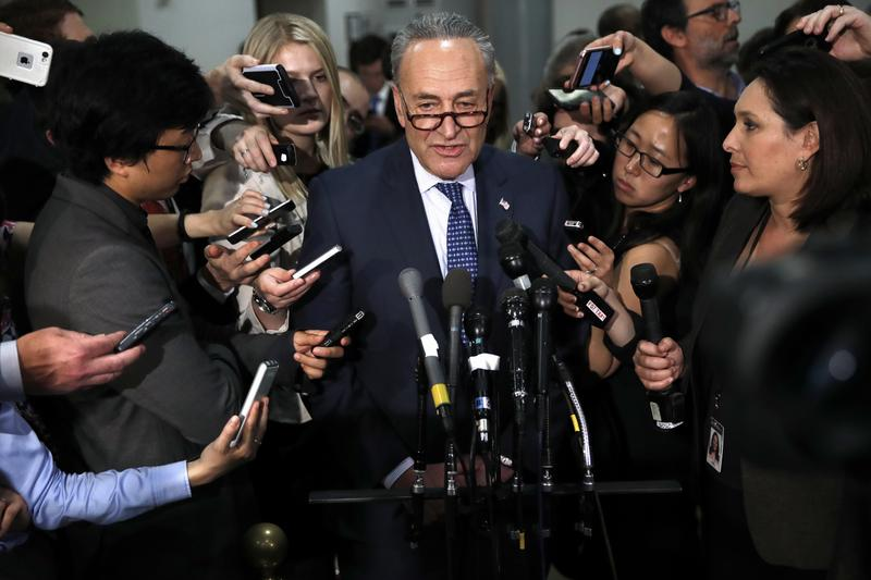 Schumer, Senate Democrats Ask For Meeting With Republicans About Health Care Bill