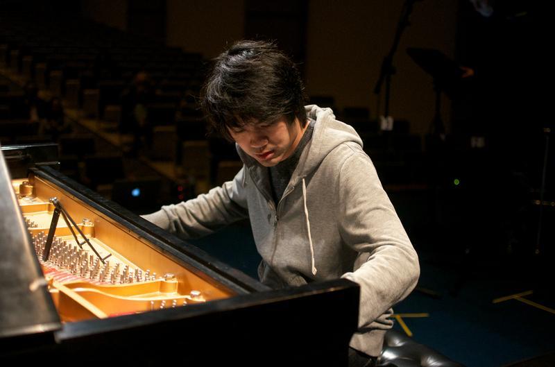 Pianist Sean Chen.