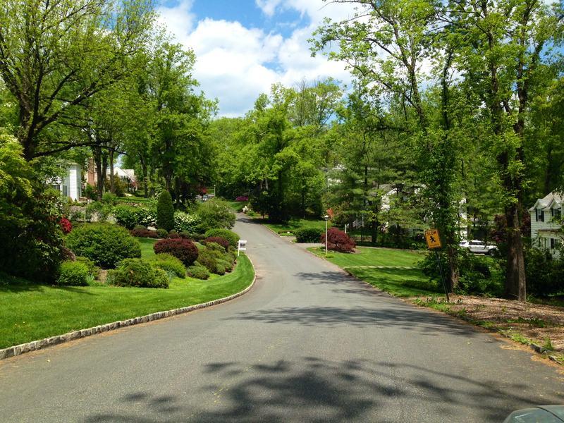 A neighborhood in Short Hills, N.J.