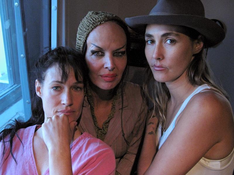 Sierra Casady, Kembra Pfaler, and Bianca Casady