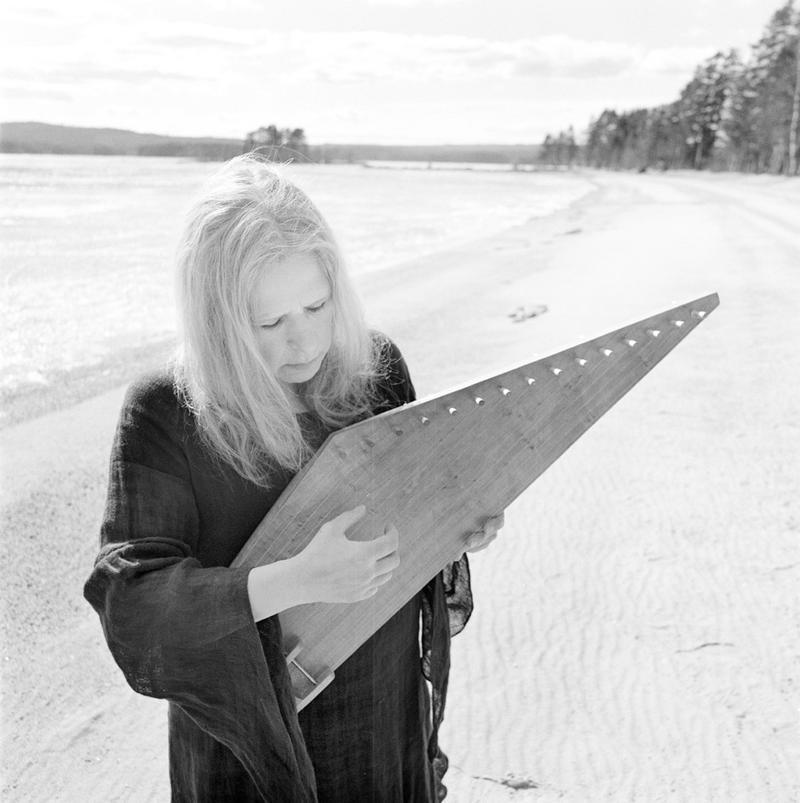 Sinikka Langeland, folksinger, kantele player and composer