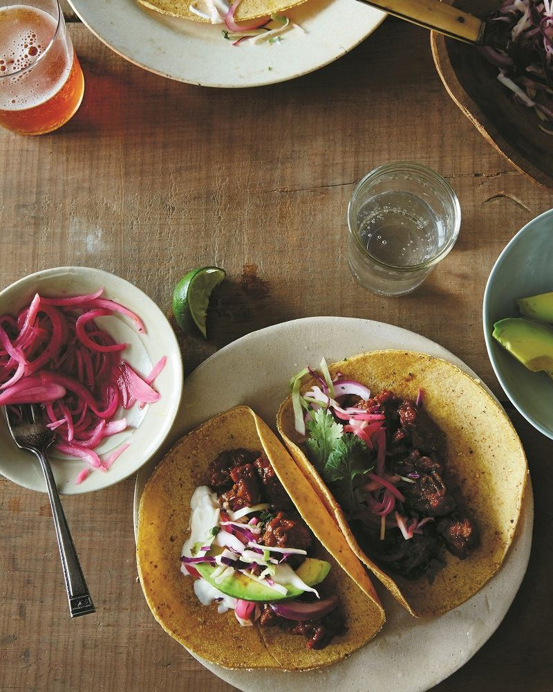 Slow Cooked Pork Tacos