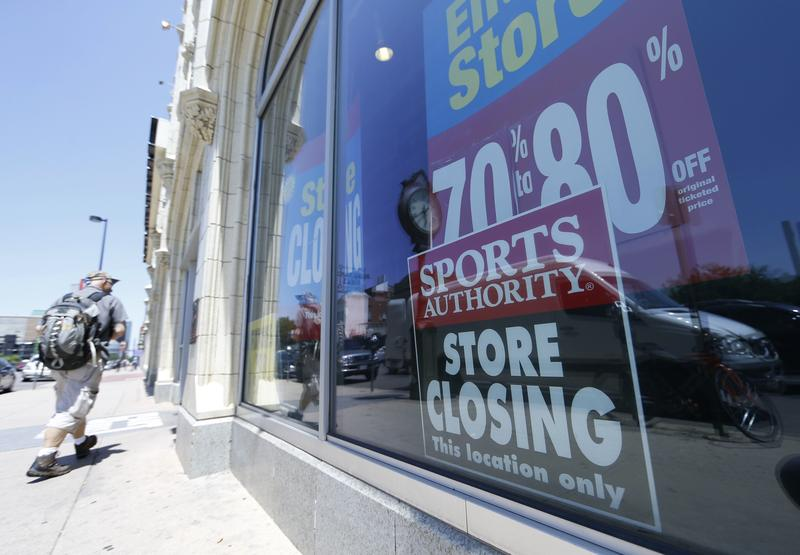 Giants like Macy's, Sears and J.C. Penney are closing hundreds of shops, leaving empty shopping malls throughout the country.