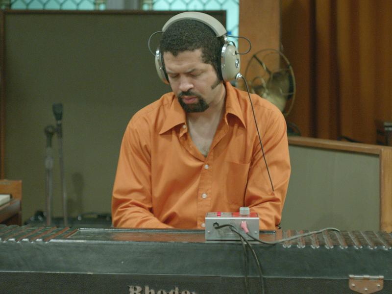 "Pianist Jason Moran. Still from Stan Douglas' video ""Luanda-Kinshasa"""