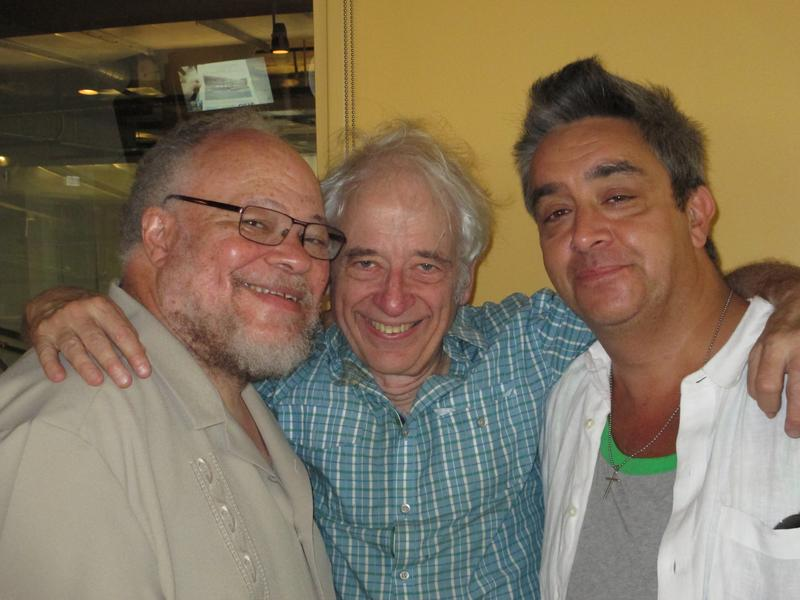 Stephen McKinley Henderson, Austin Pendleton, and Stephen Adly Guirgis at WNYC