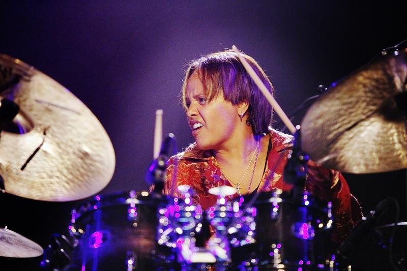 Terri Lyne Carrington performs at the Middelheim Festival 2013 at Park Den Brandt on August 15, 2013 in Antwerpen, Belgium.
