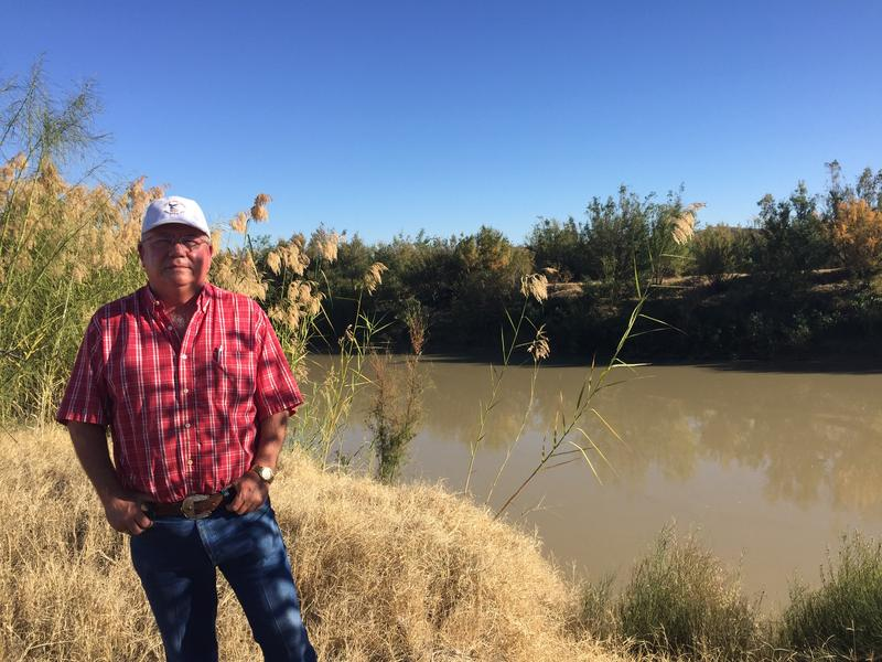Presidio, TX border farmer Terry Bishop