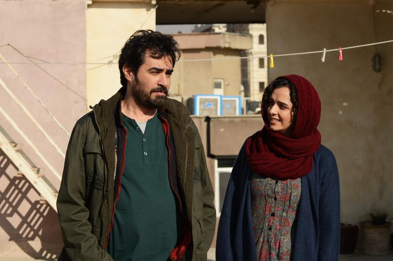 "Actors Shahab Hosseini and Taraneh Alidoosti in ""The Salesman"" (reprinted with permission from Cohen Media Group)."