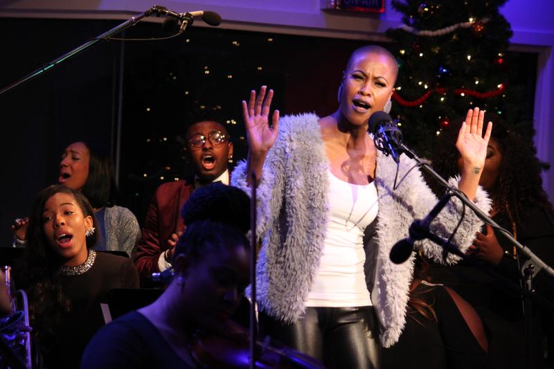 Latice Crawford in Damien Sneed's 'The Soul Now Sings: A Musical Christmas Journey'