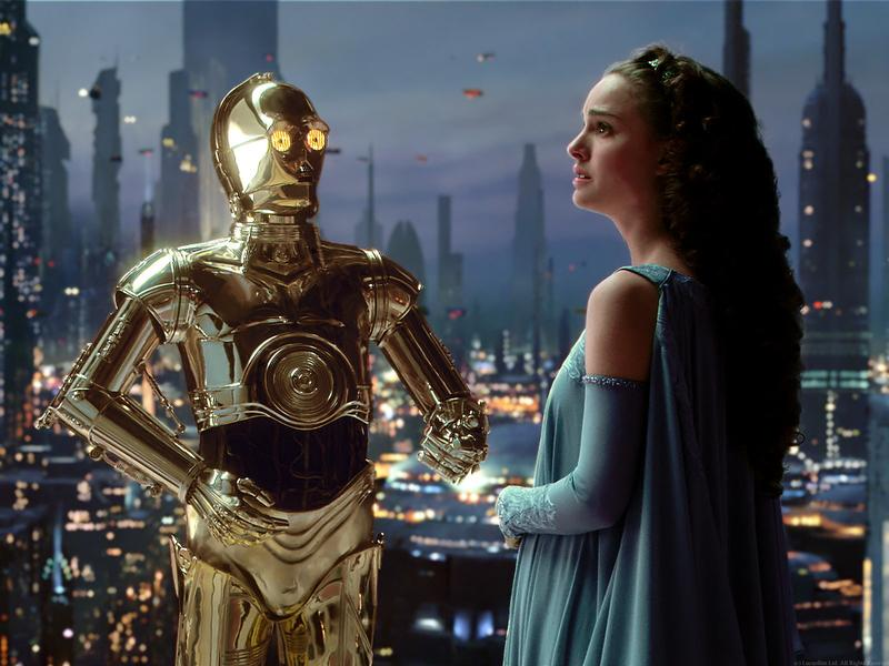 C-3PO in Star Wars Episode III: Revenge of the Sith.
