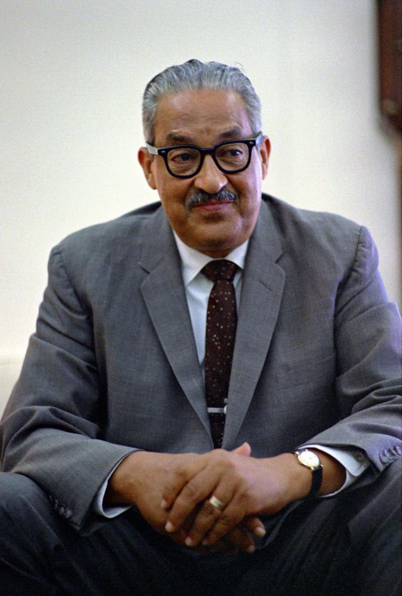 Thurgood Marshall, June 13, 1967.