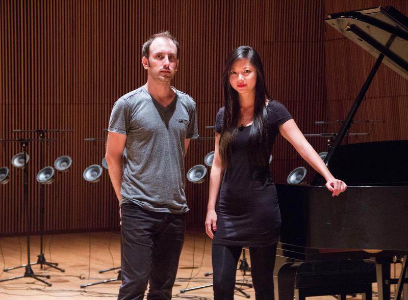 Tristan Perich and Vicky Chow
