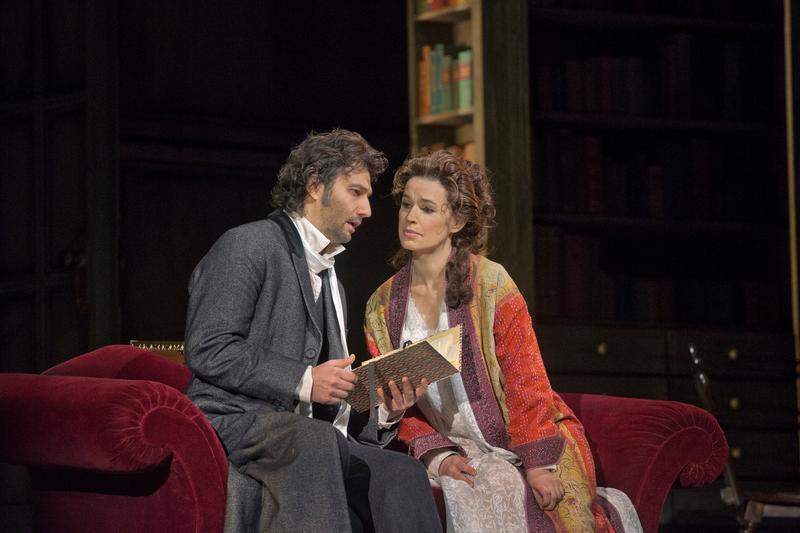 Jonas Kaufmann as Werther and Sophie Koch as Charlotte in Massenet's 'Werther'
