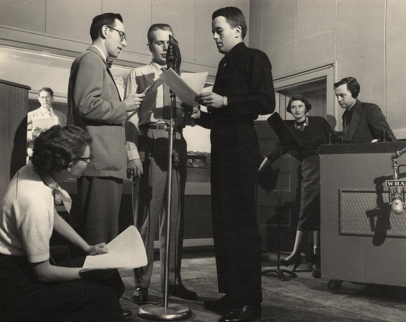 WHA Radio Players in the 1940s.