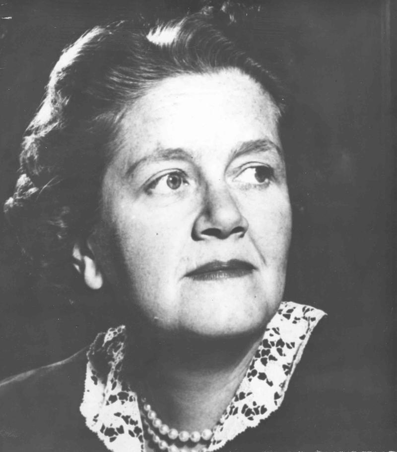 New York City Health Commissioner Leona Baumgartner, circa 1956.