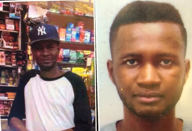 Photos of Wali Camara, who was killed by a man who grabbed a police officer's gun