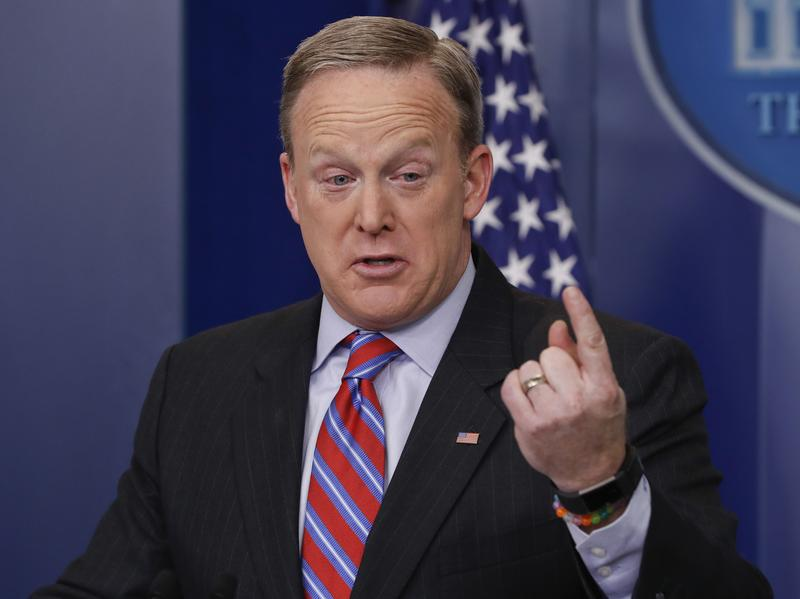 """""""If you're looking at the CBO for accuracy, you're looking in the wrong place,"""" said White House press secretary Sean Spicer."""