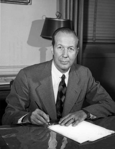 William C. Foster circa 1951.