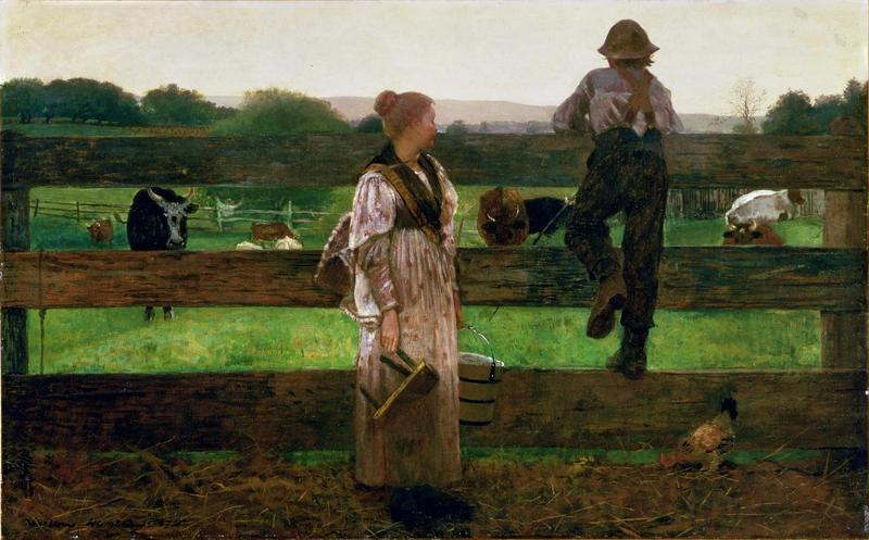 "Winslow Homer's ""Milking Time"" (1875)"