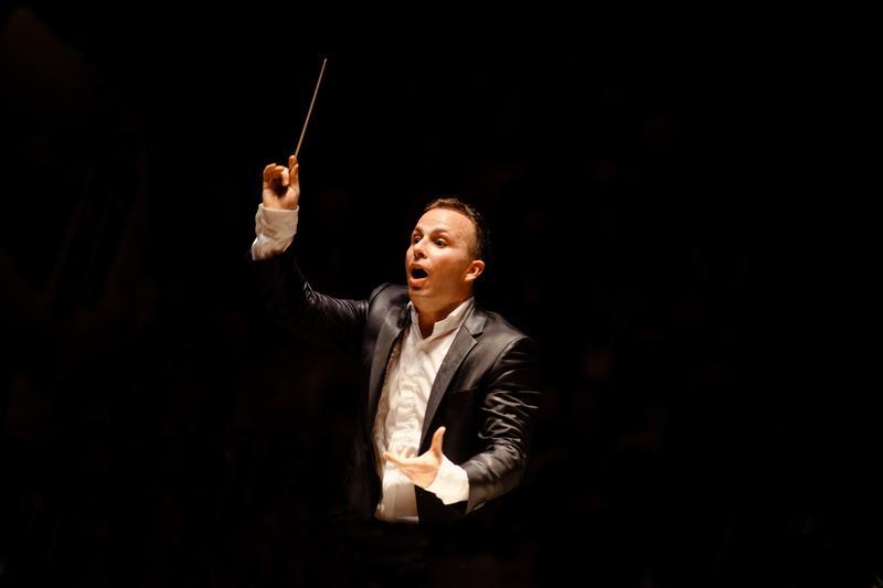 Conductor Yannick Nézet-Séguin.