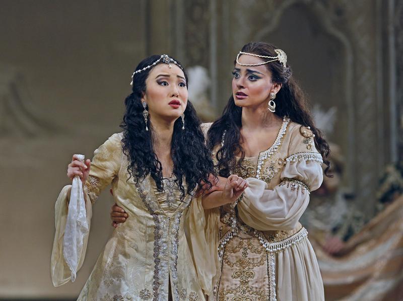 Ying Fang and Rihab Chaieb in Rossini's 'L'Italiana in Algeri.'
