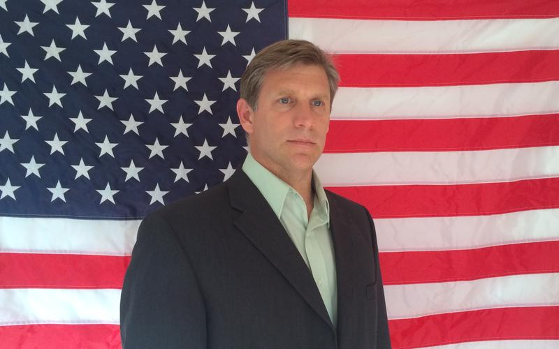 Transhumanist Zoltan Istvan on the campaign trail.