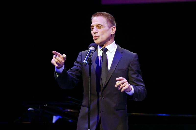 Tony Danza performing at Sinatra at 100 October 17, 2015
