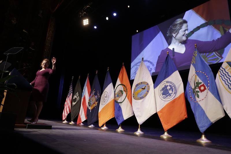 City Council Speaker Melissa Mark-Viverito delivered her final State of the City address at the Kings Theatre in Brooklyn