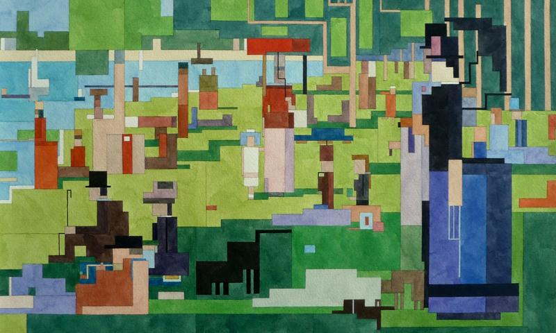 <em>A Sunday Afternoon on the Island of La Grand Jatte</em>