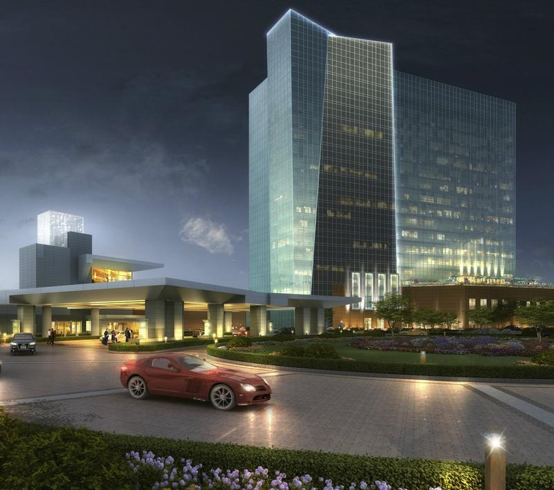 A rendering of Empire Resorts' proposed casino in the town of Thompson, NY