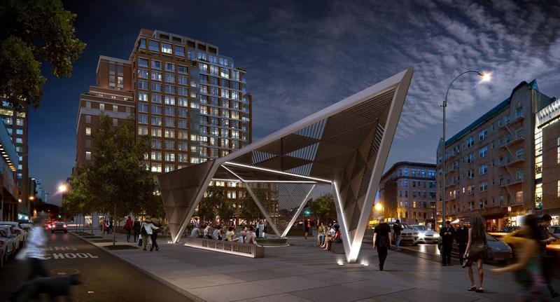 The New York City AIDS Memorial.