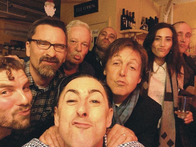 Alan Cumming and a few friends.