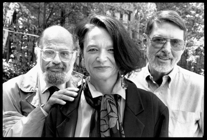 Allen Ginsberg, Anne Waldman and Robert Creeley.