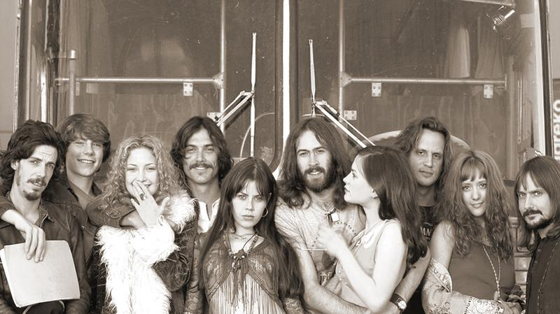 The fictional band Stillwater from the 2000 film 'Almost Famous.'