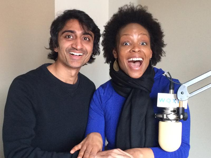 Reporter Arun Venugopal and comedienne Amber Ruffin