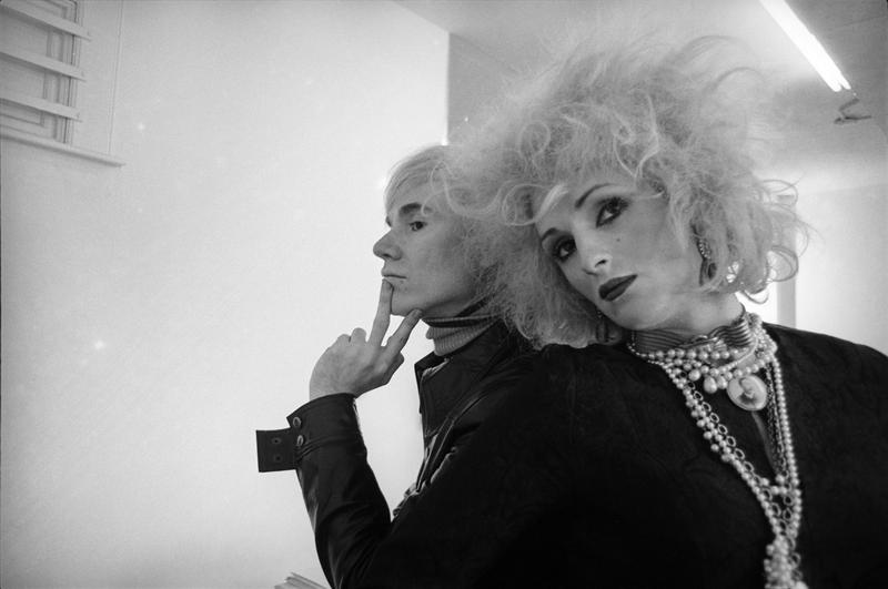 Andy Warhol and Candy Darling, New York, 1969