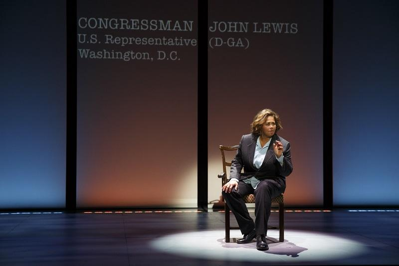 """Anna Deavere Smith in """"Notes From The Field."""""""