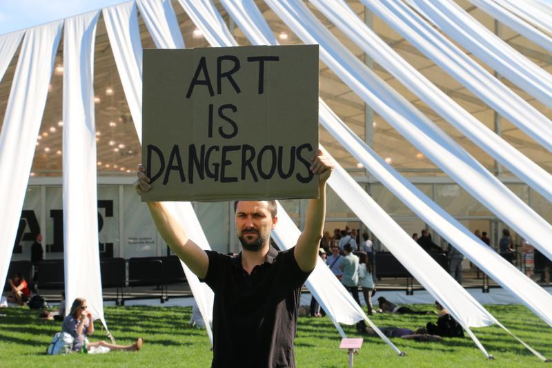 Art is Dangerous, Marko Markovic, 2014