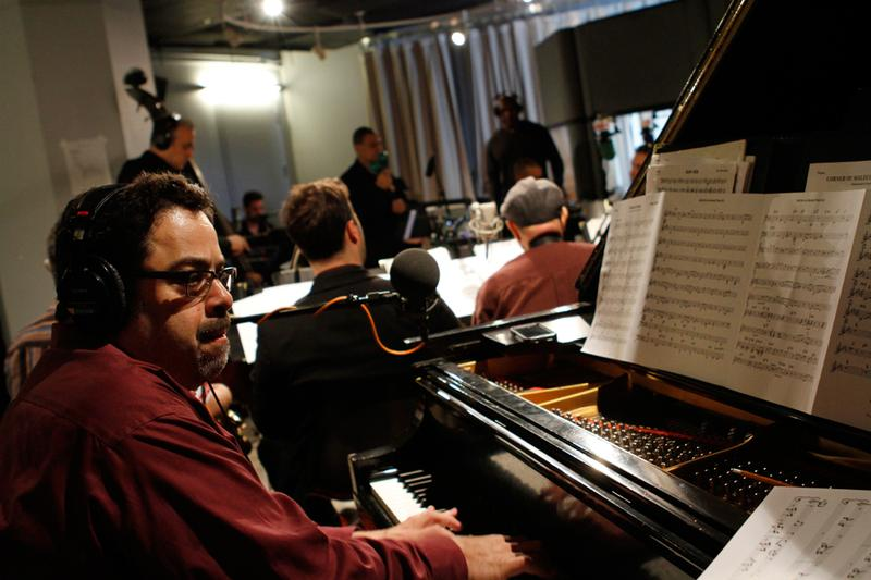 Arturo O'Farrill and The Afro Latin Jazz Orchestra perform in the Soundcheck studio.