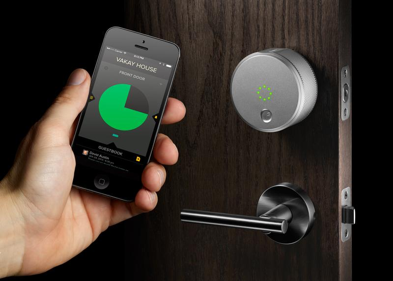 August smart lock, designed by Yves Behar