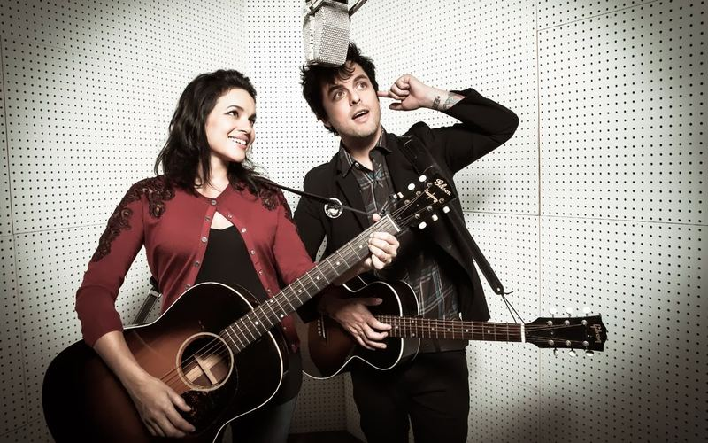 Green Day's Billie Joe Armstrong and Norah Jones released 'Foreverly,' a tribute to the Everly Brothers, in Nov. 2013.