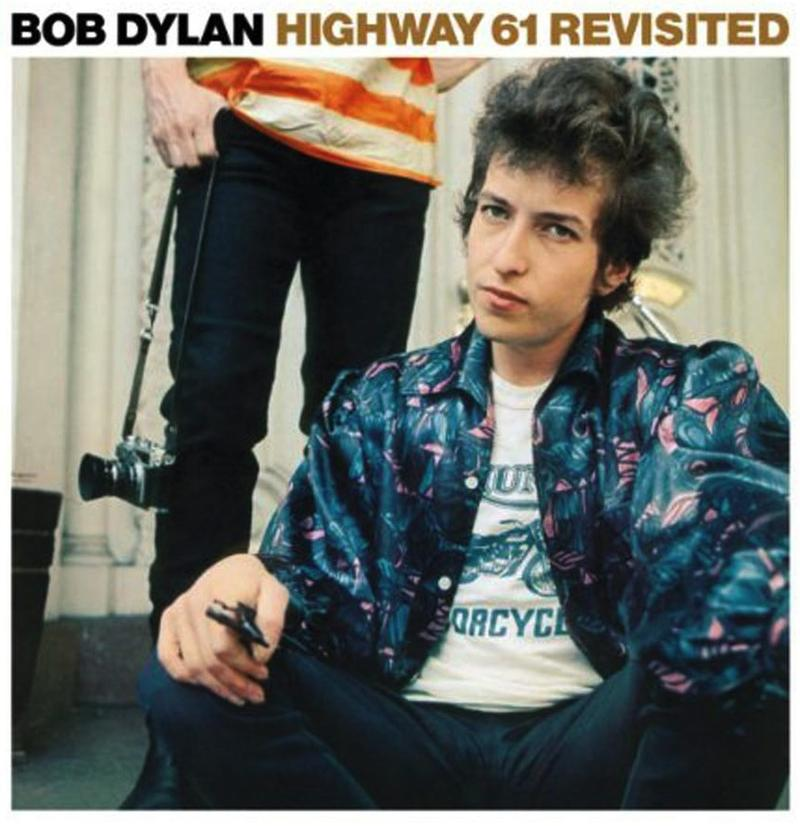 "Cover of Bob Dylan's ""Highway 61 Revisited."""