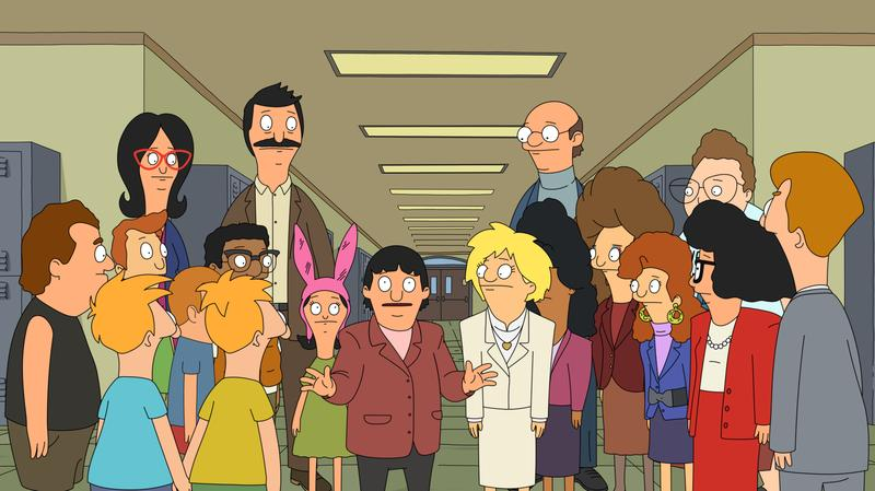 A scene from the Bob's Burgers season five premiere