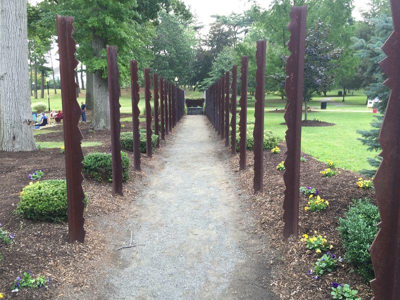 9/11 memorial in Heckscher Park, Huntington, New York