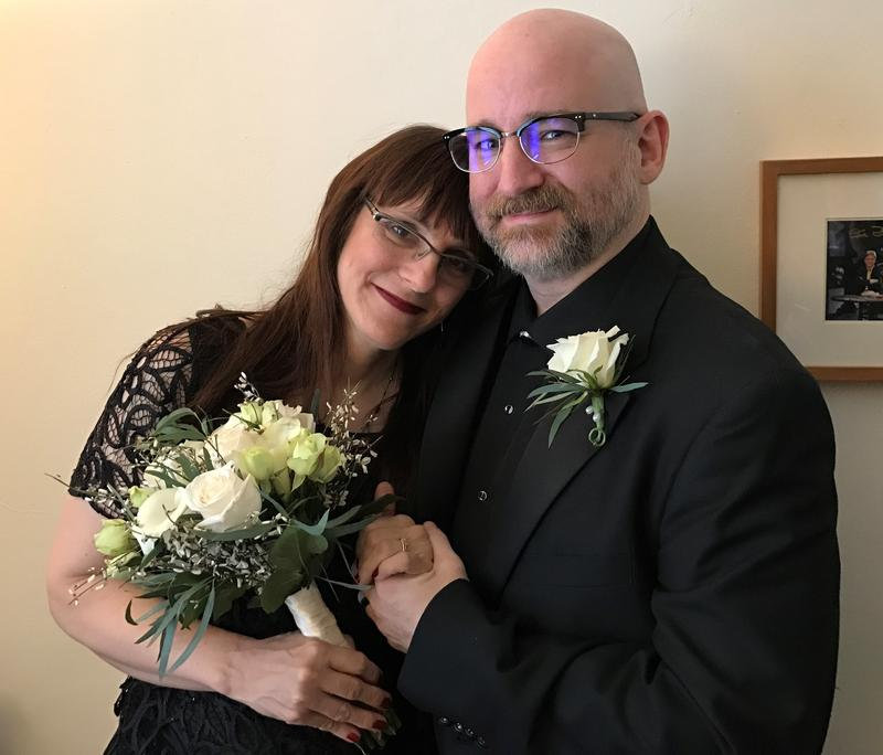 Don Boyer and Ann Justi initially planned to get married in the fall, but moved things up because they were concerned Affordable Care Act rule changes could strand her without insurance.